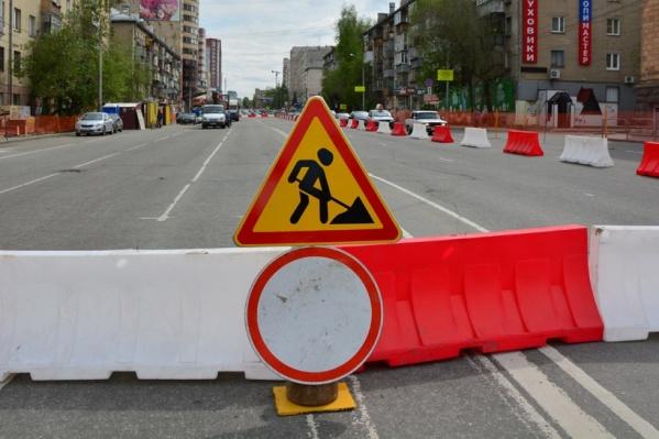 Движение на перекрёстке Красной и Труда откроется утром в понедельник