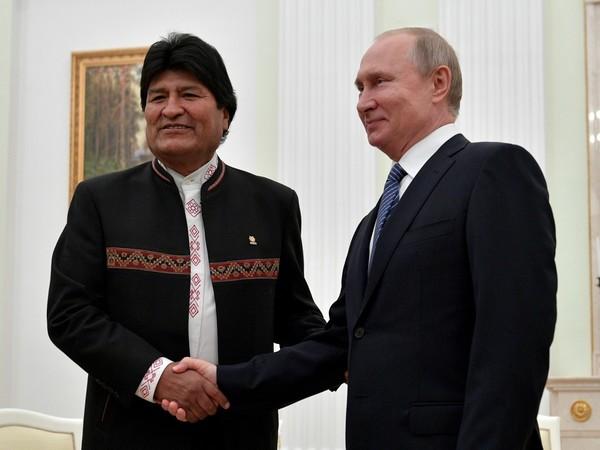 Владимир Путин и Эво Моралес / фото с сайта kremlin.ru