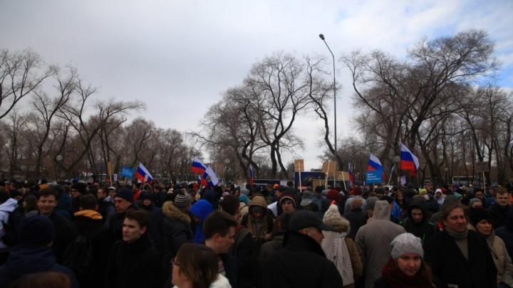 Мэрия Тюмени разрешила штабу Навального 28 января провести акцию протеста
