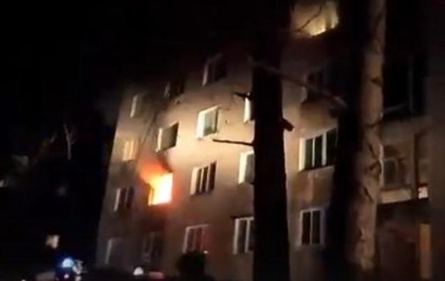 В Прикамье на пожаре женщина обожгла лицо