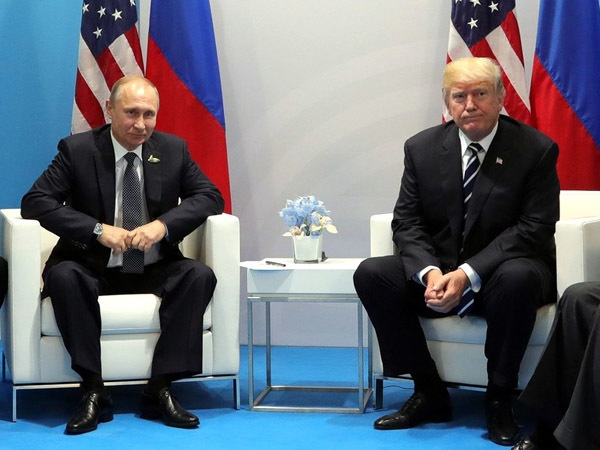 Владимир Путин и Дональд Трамп/пресс-служба президента РФ