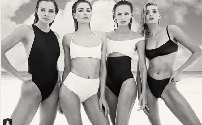 Пермская модель Наташа Поли снялась на Багамах в фотосессии в купальниках
