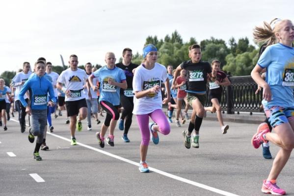 Более 6,5 тысячи человек приняли участие в забеге