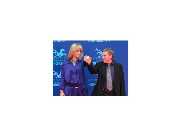 Настасья Кински и Андрей Плахов