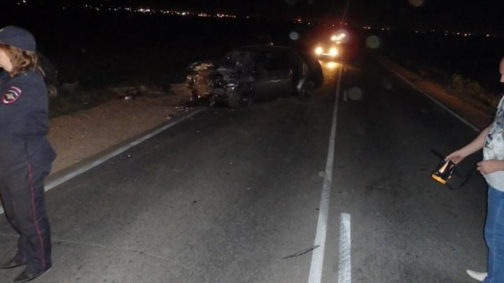 Потерял контроль на скорости: на Южноуральской трассе столкнулись два ВАЗа