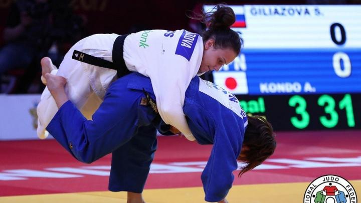 Челябинская дзюдоистка завоевала серебро турнира «Большой шлем»