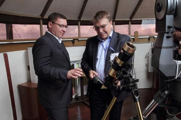 Владимир Якушев отметил, что обсерватория требует особого внимания
