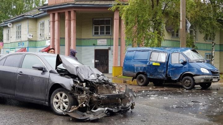Тройное ДТП произошло в центре Северодвинска