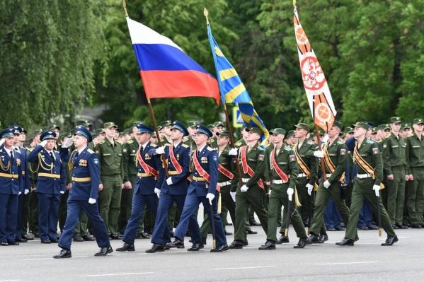 В Ярославле дипломы получили курсанты военного училища