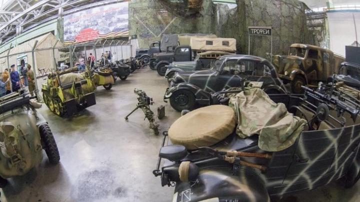 Уникальную военную технику из Петербурга привезут в Ярославль