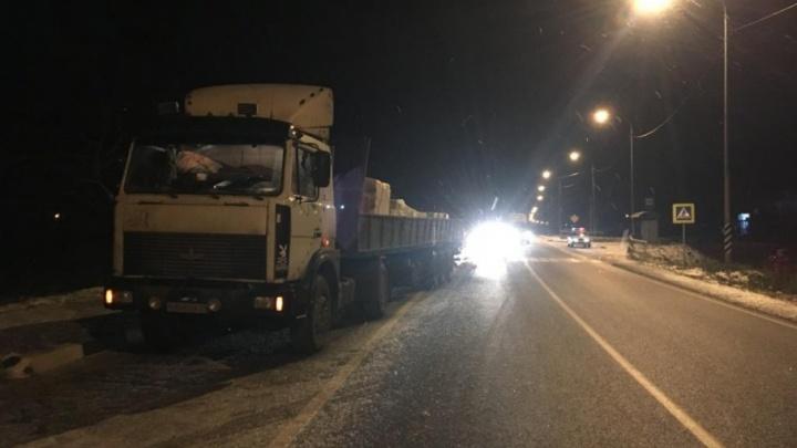 В Вельском районе под колесами грузовика погибла женщина