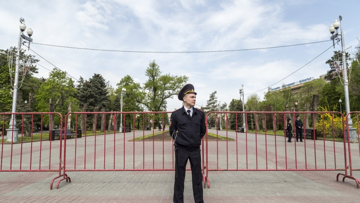 В Волгограде Первомай стал рабочим днем для тысяч полицейских