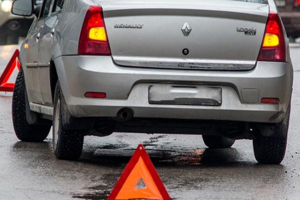 Автомобиль попал в ДТП из-за того, что водитель превысил скорость