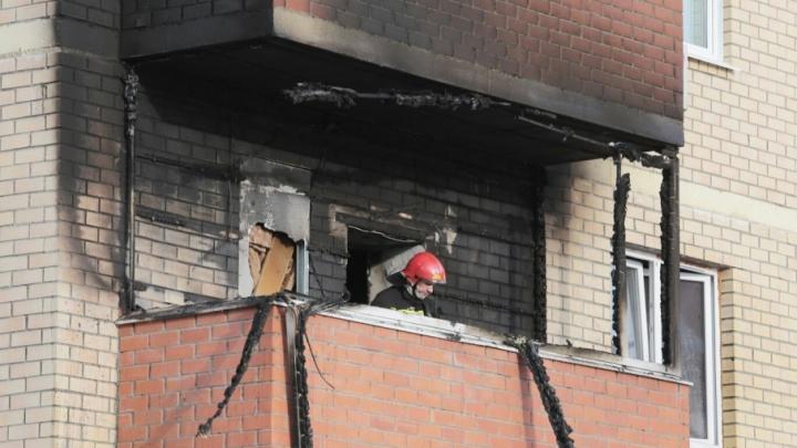 «Сгорели диван и бытовая техника»: в МЧС выяснили причины пожара в «Подсолнухах»