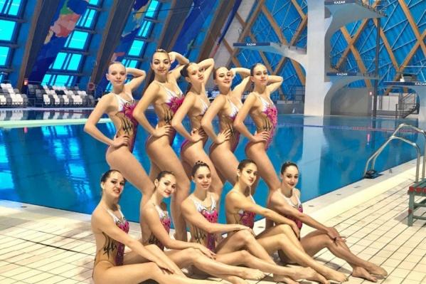 В состав ростовской сборной вошли синхронистки из трех спортивных учреждений