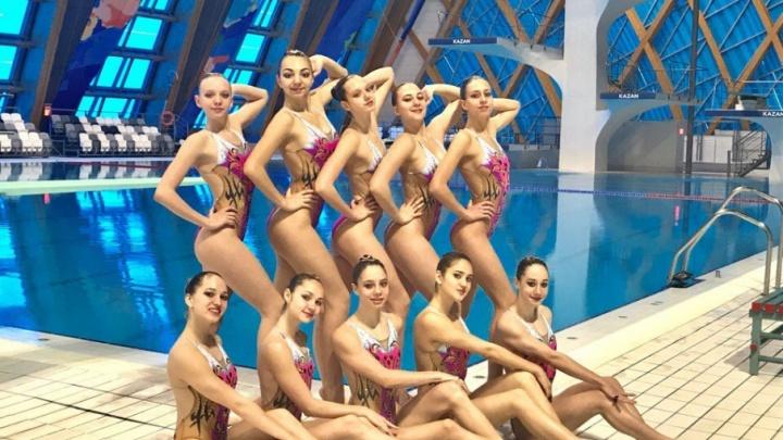 Ростовчанки-синхронистки заняли пятое место в России