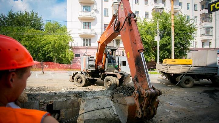 В Ленинском районе Челябинска перекрыли движение транспорта