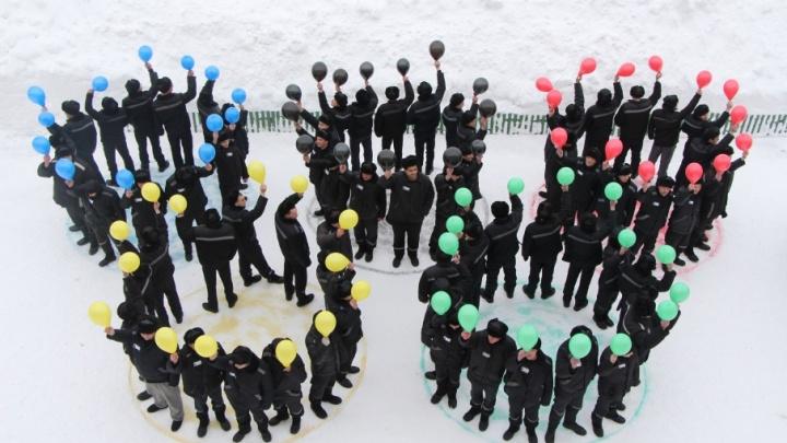 Ярославские заключённые поддержали российских олимпийцев