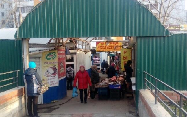 Рынок на Московском шоссе — Ново-Вокзальной решили сохранить
