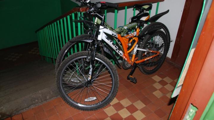 За год в Архангельской области украли больше 200 велосипедов