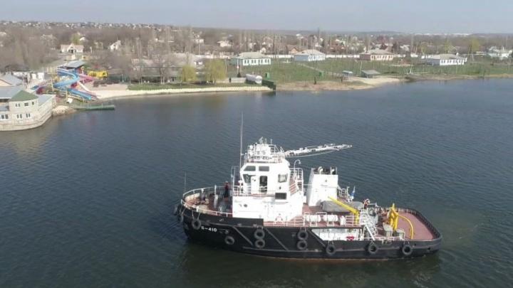 Отряд кораблей Каспийской флотилии прибыл на ростовскую набережную