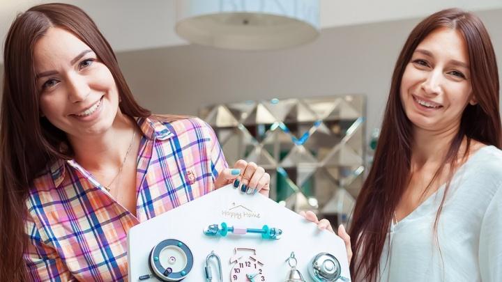 Бизнес в декрете: две сестры из Челябинска заработали миллион, собирая домики для детей