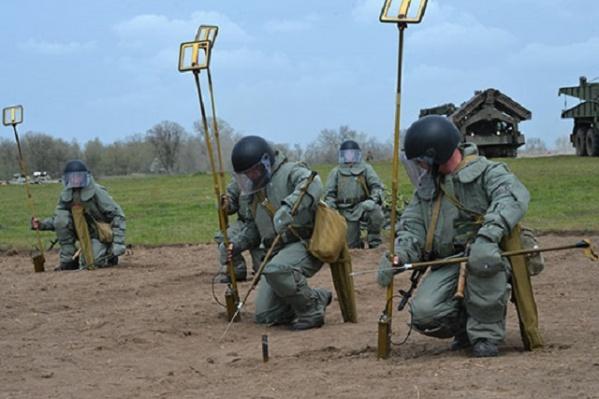 Для уничтожения боеприпасов было организованно около тысячи подрывов