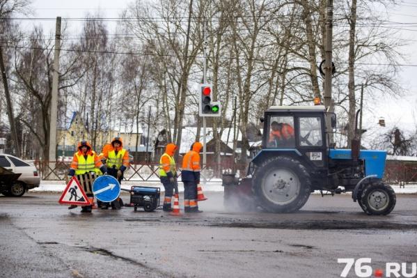 Делать ямочный ремонт ярославских дорог будет фирма «ДСУ-1»