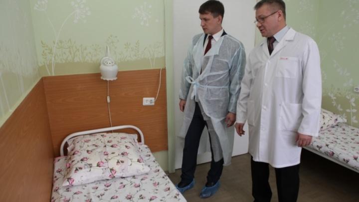 В ярославской детской больнице появилась палата для детей с муковисцидозом