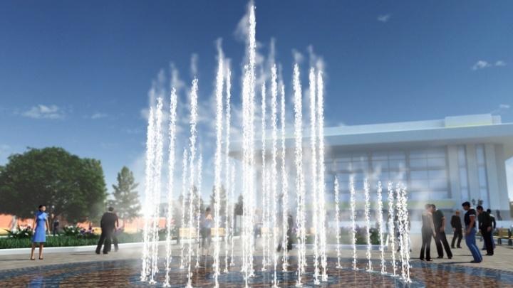 В Мемориальном парке начали строить патриотический фонтан за 20 миллионов