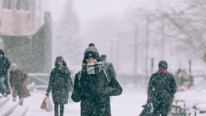 Снегопад в цифрах: выпала половина месячной нормы осадков, из города вывезли 5000 кубометров снега