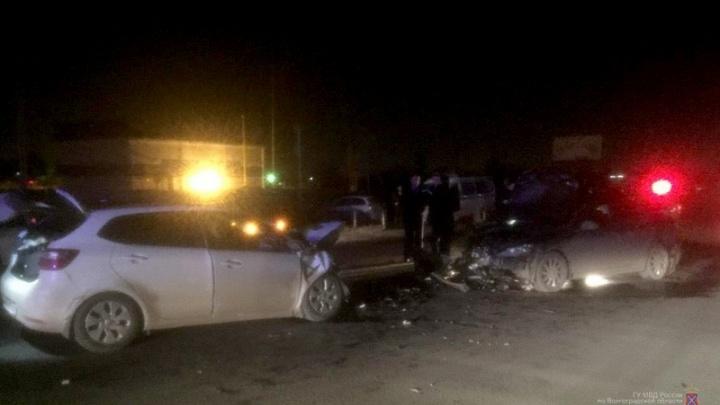 В Ворошиловском районе Волгограда нетрезвый водитель пошел на таран встречки