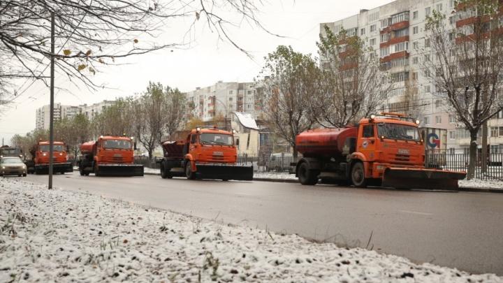 Чистить ярославские дороги выехали коммунальщики-новички