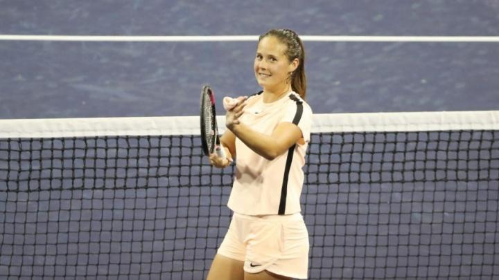 Теннисистка из Тольятти Дарья Касаткина впервые вышла в полуфинал турнира Premier Mandatory