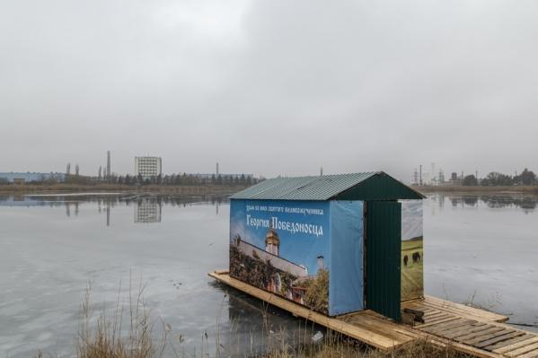 В Ростове около девяти купелей в Крещение пройдет богослужения