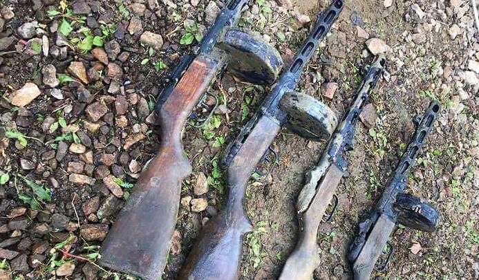 На поднятом из Волги бронекатере нашли много оружия и «смертный медальон»