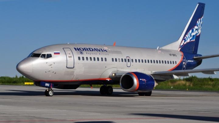 Во время отпусков «Нордавиа» преподнесла пассажирам сюрприз в виде переносов сразу трех рейсов