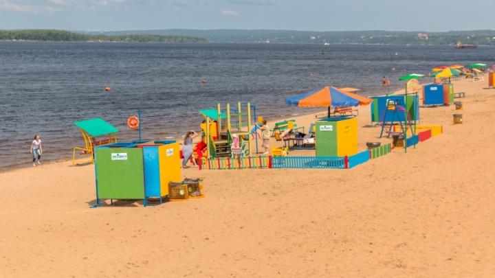 На пляж у «Ладьи» не будут завозить новый песок