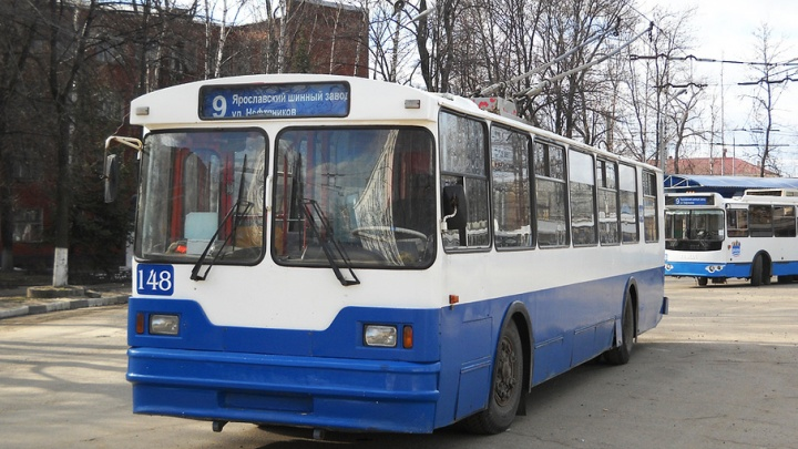 Троллейбус №9 в Ярославле начал ездить по-новому