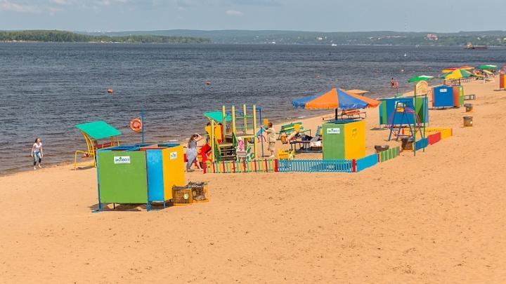 Самарцам не рекомендуют купаться в Загородном парке и еще на трех пляжах города
