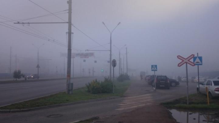 «Это Сайлент Хилл или Пермь?»: столицу Прикамья окутал густой туман