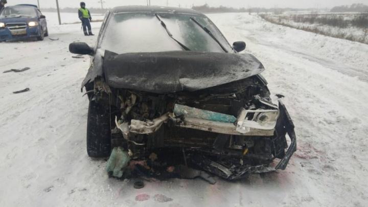 На Южном Урале в «снежном» ДТП погиб человек