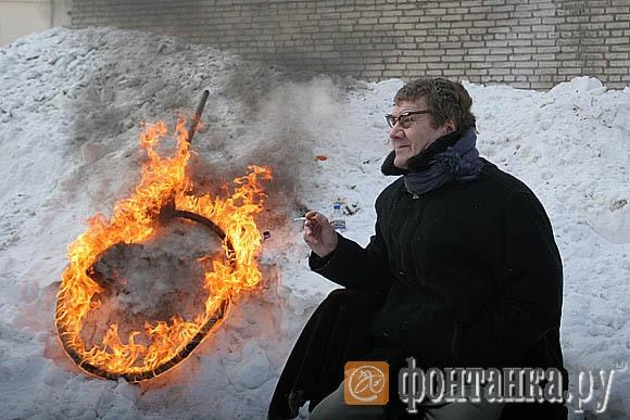 Анатолий Баранов, ради которого и был совершен прыжок.