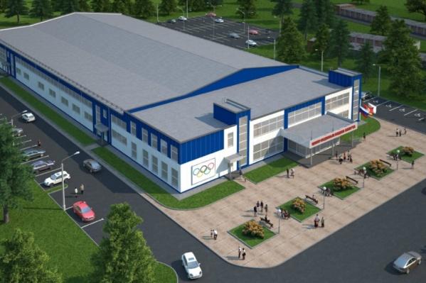 Проект будущего центра подготовки спортсменов