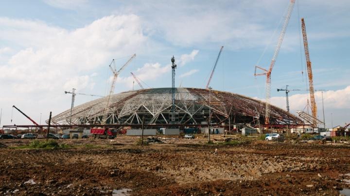 На пути к стадиону «Самара-Арена» установят числовые стелы с подсветкой