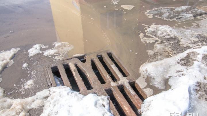В Самаре заменили аварийные участки ливневки на Заводском шоссе и Молодогвардейской
