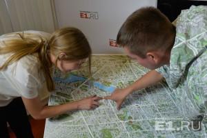 Разглядывать карту Екатеринбурга можно часами
