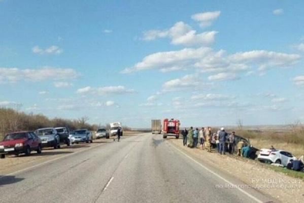Машины столкнулись в Дубовском районе