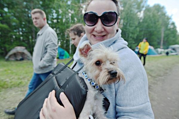 Жители «Паркового» обратились к главе города с просьбой организовать площадку для выгула собак
