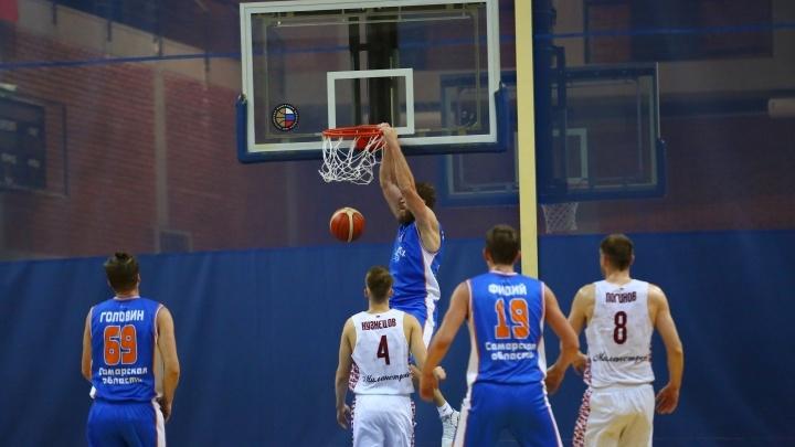 Баскетбольный клуб «Самара» на выезде в Москве уступил МБА